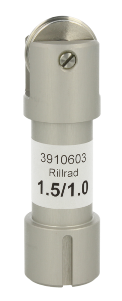 Rillrad C201 mit Halter Ø 24 mm Nase R 1.5/1.0