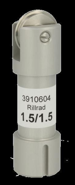 Original ZÜND Rillrad C202 mit Halter