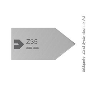 Original ZÜND Passepartout Messer Typ Z35