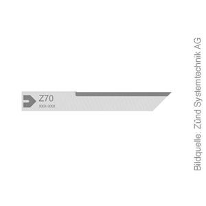 Original ZÜND Schneidmesser Typ Z70