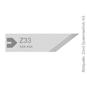 Original ZÜND Passepartout-Messer Typ Z33