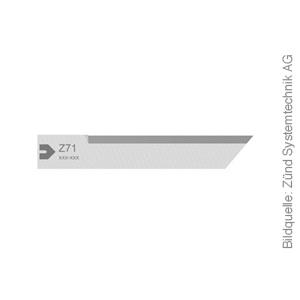 Original ZÜND Schneidmesser Typ Z71