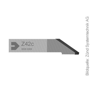 Original ZÜND Oszilliermesser Z42c speziell für Lederanwendungen