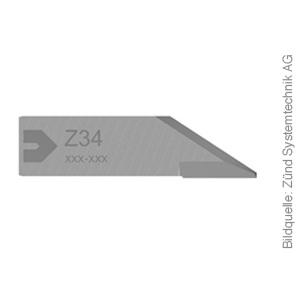Original ZÜND Passepartout Messer Typ Z34