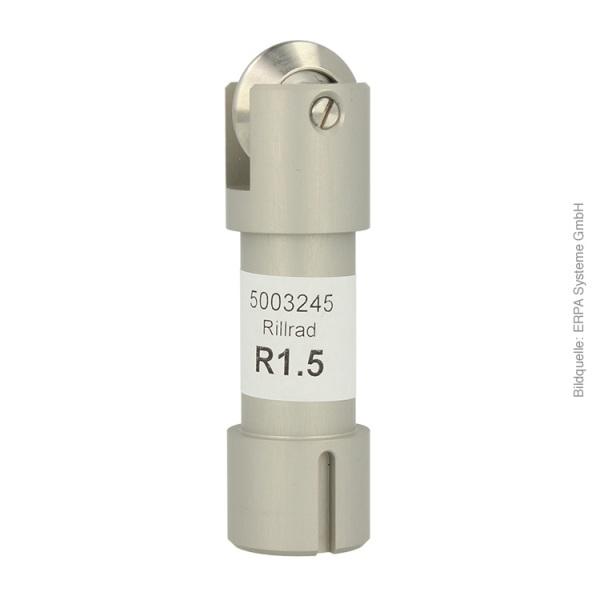 Rillrad C212 mit Halter Ø 24 mm Nase R1.5