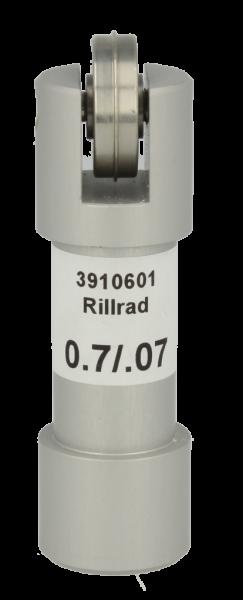 Original ZÜND Rillrad C205 mit Halter