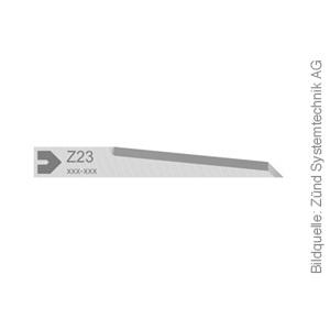 Original ZÜND Oszilliermesser Typ Z23